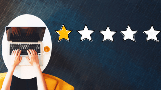 customer review rating
