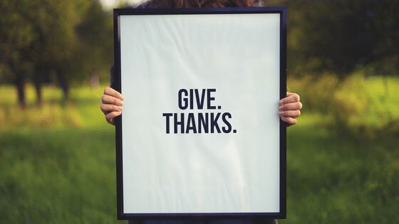 thanksgiving marketing through charity