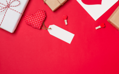 Valentine's Day Retail Stock Photos