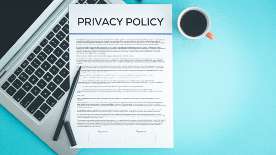 retail privacy policy