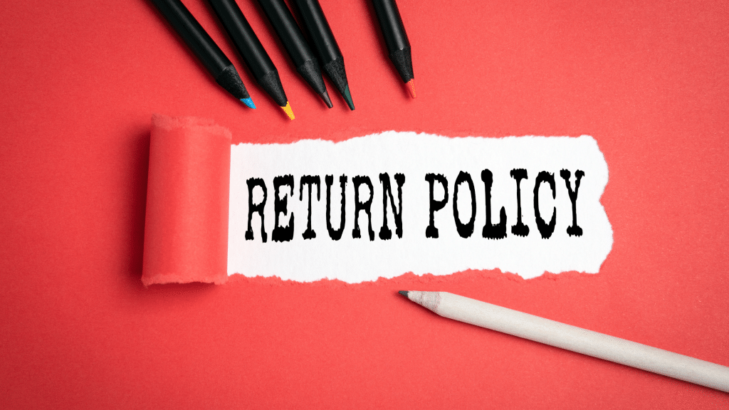 Retail return policy