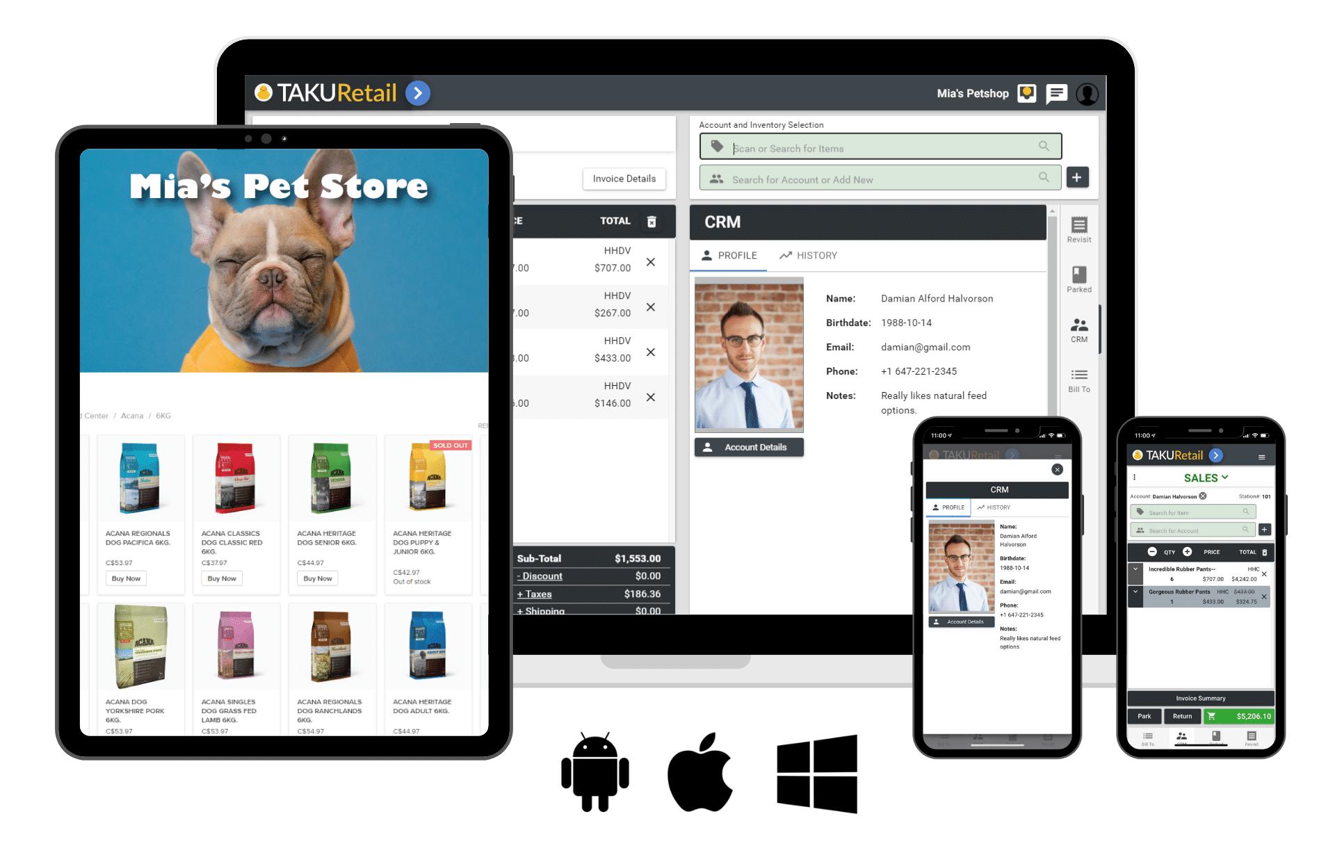 TAKU Retail - One Platform, Any Device