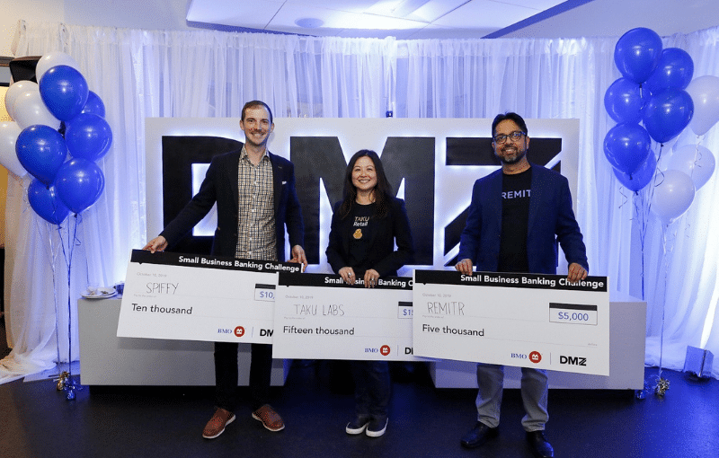 DMZ and BMO Financial Group Announce Small Business Banking Challenge Winners